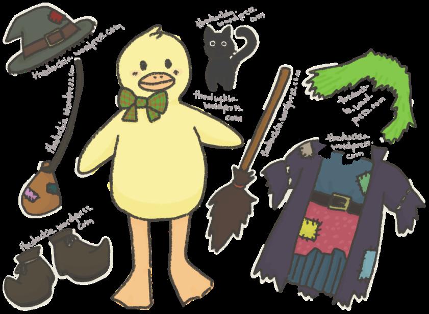 Walpurgis duck kit