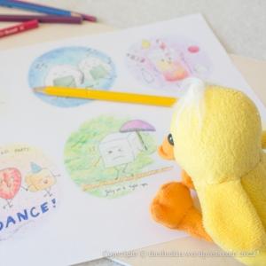 Picnic idea duck